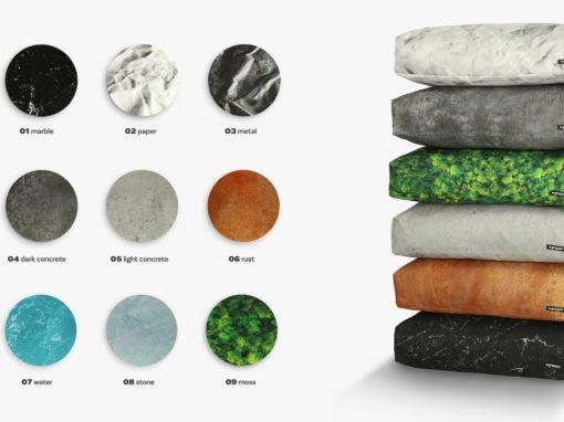 Design texture of fabric